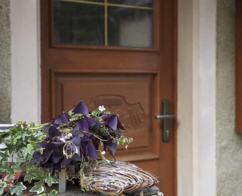Waldhaus Kalkbrüche - Tür