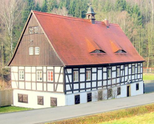 Das Huthaus in Zechendorf – einst Bethaus und Magazin der Bergleute