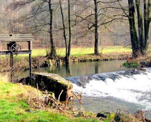 Striegiswehr an der Wiesenmühle